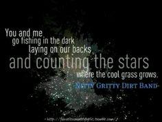 Fishing in dark