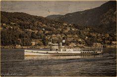 Postcard from Lake Como, 1932    #TuscanyAgriturismoGiratola