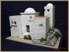 Clay Houses, Ceramic Houses, Miniature Crafts, Miniature Houses, Mexican American War, Southwestern Art, Earthship, Christmas Nativity, Little Houses