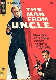 Man From U.N.C.L.E. Comic Book by modern_fred, via Flickr