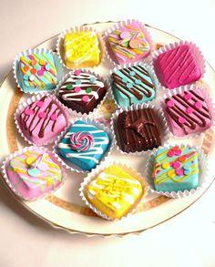 Fake Chocolates Fake Candy Props