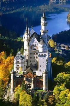 The Most Beautiful Palaces In The World, Neuschwanstein Palace, Bavaria, Germany