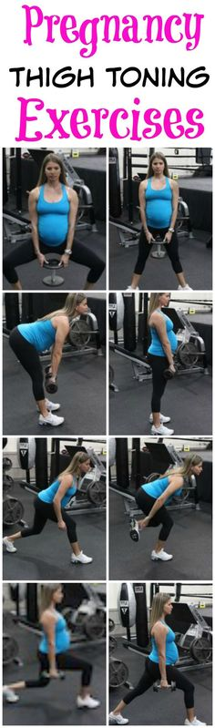 Tone your thighs even while your pregnant, with This Pregnancy Workout. These exercises are safe and can be done from home. Lots of great pregnancy exercise tips and pregnancy diet tips to help have a healthy and fit pregnancy.