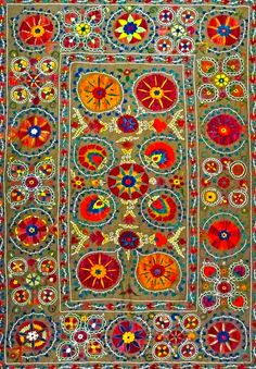 coquita Color explosion with a pattern! Textiles, Textile Patterns, Textile Design, Textile Art, Fabric Design, Pattern Design, Magic Carpet, Rug Hooking, Rugs On Carpet