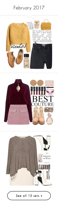 """""""February 2017"""" by erohina-d ❤ liked on Polyvore featuring H&M, RE/DONE, Gap, Perricone MD, Narciso Rodriguez, McQ by Alexander McQueen, Monza, Chanel, Monica Rich Kosann and Bulgari"""