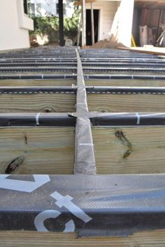 Here are my three top tips to double the lifespan of your new deck! Hint: They all deal with water and rot issues. -Matt Risinger: