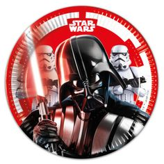 Star Wars Final Battle - Paper Plates Medium 20cm