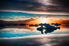 Sunset At Jökulsárlón
