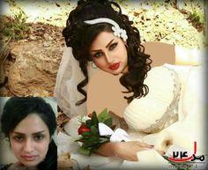 عکس آرایش عروس قبل وبعد