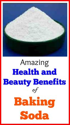 Amazing Health and Beauty Benefits of Baking Soda. It is truly amazing that this product has been overlooked in our pursuit of health and beauty. By rights, it should take center stage. Health Snacks, Health Diet, Health And Wellness, Health And Beauty, Health Breakfast, Breakfast For Kids, Cool Diy, Diy Beauty Hacks, Baking Soda Benefits