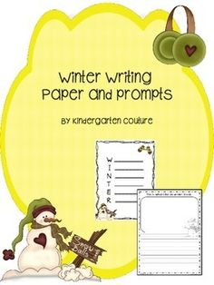 Here are 6 pages of winter journal paper.  I hope you can find one or more useful.  Enjoy.