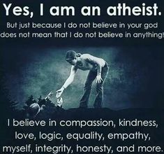 Atheism ★ Atheist t-shirts with quotes against religion ★ No Gods No Masters [Page Atheist Quotes, Atheist Humor, Humanist Quotes, Atheist Religion, La Compassion, Secular Humanism, Bien Dit, Losing My Religion, Les Religions