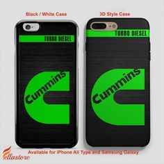 cool Cummins Turbo Diesel iPhone 7-7 Plus Case, iPhone 6-6S Plus, iPhone 5 5S SE, Samsung Galaxy S8 S7 S6 Cases and Other