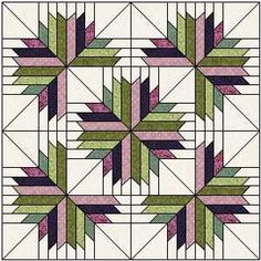 Information from a quilt historian About quilt fabric past and present Star Quilt Blocks, Star Quilts, Easy Quilts, Patchwork Quilt, Applique Quilts, Quilting Projects, Quilting Designs, Man Quilt, Jelly Rolls