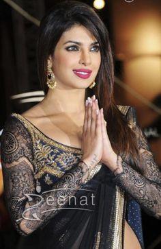 Priyanka Chopa in Sarees, Salwar Kameez, Lehenga Choli and Anarkali Suits - Page 2