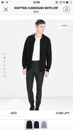 Zara zip up cardigan (black,navy,grey)