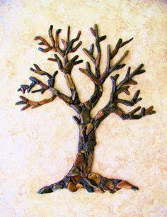 Tree by PEBBLEMOSAICS on Etsy