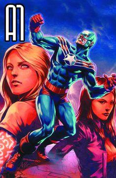#A1 Annual #GN Vol1 #Titan (Cover Artist: Jim Steranko) On Sale: 10/23/2013