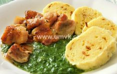 Hlavní jídla – U Miládky v kuchyni Hummus, Hub, Menu, Chicken, Ethnic Recipes, Food, Menu Board Design, Essen, Meals