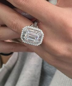231da8b4b4d Instagram media by markpattersonjewelry - It s finally finished! How  awesome is that Emerald cut diamond