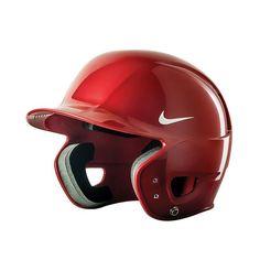 Nike N1 Show Baseball Batting Helmet - Adult, Red