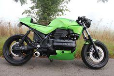 K 100 Cafe Racer MMM - RocketGarage - Zeitschrift für Cafe Racer - Bikes - Motorrad Bobber Custom, Custom Bmw, Bike Bmw, Bmw Motorcycles, Custom Motorcycles, Moto Cafe, Cafe Racer Bikes, K100 Bmw, Cafe Racer Magazine