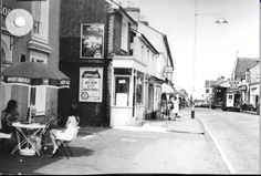 Undated picture of Camden Road with The Roebuck on the left and looking towards Bob's DIY.