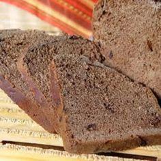 Pão Brownie de Chocolate - Máquina de Pão
