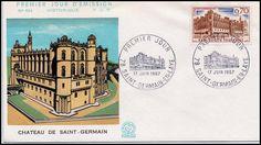 Timbre : 1967 SAINT-GERMAIN-EN-LAYE   WikiTimbres