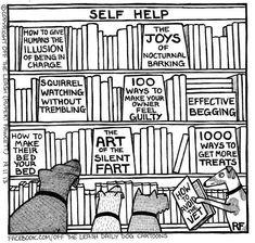 Dog self help books