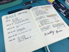 It's time for a Bullet Journal update on the Boho Berry Blog today! Here's a page-by-page peek into my Emerald Official Bullet Journal :)