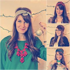 The Fayette Headband ((Holiday Collection))
