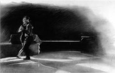 Tango Art: Charcoal drawings by Karen Kucharski express the richness and intensity of the dance. Tango Art, Charcoal Drawings, Fictional Characters, Fantasy Characters