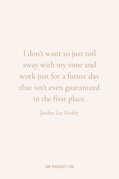 I don't want to just toil away with my time and work for a future day that isn't even guaranteed in the first place. | Inspirational Quote | Grab your snack and tune in to the episode to learn: The difference between passive and active income, what the Bible says about diversifying your income, how diversifying your income can benefit you, and ways you can start earning passive income. Future Days, Inspirational Quotes For Women, My Jesus, Words Of Encouragement, Passive Income, Woman Quotes, No Time For Me, Benefit, Bible