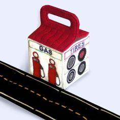 Toy Garage Machine Embroidery