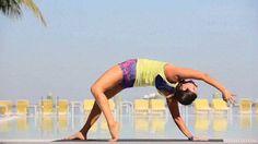 Camatkarasana, Wild Thing, Sharon Aluma Hip Flexor Exercises, Hip Ups, Pilates, Health And Wellness, Workouts, Core, Plant, Training, Floor