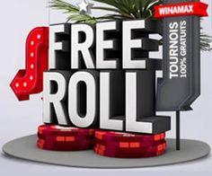 Winamax : le Welcome Freeroll et autres tournois de poker gratuits