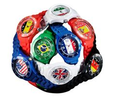 FIFA Mundial Brasil 2014 Belgian brand Ice-Watch has produced a range of watches inspired by national teams taking part in the World Cup Football 2014 tournament