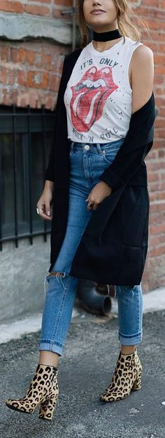 spring street style outfit idea
