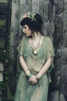 Spirit of Beltane #elf #mori #preraphaelite