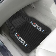 Toronto Blue Jays Floor Mats Deluxe Auto Car Mats