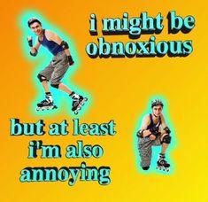 yeah nichememes mood me same bluewords rollerskates rollerskater annoying everyonehatesme Stupid Funny Memes, Funny Relatable Memes, Haha Funny, Memes Humor, Dankest Memes, Jokes, Reaction Pictures, Funny Pictures, Gucci Gang