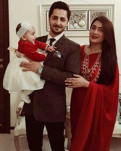 Perfect family♥ #Ayezakhan#danishtaimoor#babyhoorain