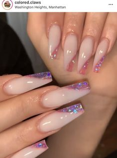What you need to know about acrylic nails - My Nails Aycrlic Nails, Swag Nails, Coffin Nails, Manicure, Vogue Nails, Best Acrylic Nails, Summer Acrylic Nails Designs, Baby Pink Nails Acrylic, Sparkle Acrylic Nails