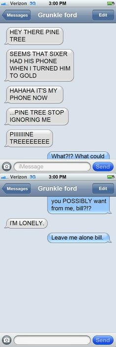 Gravity Falls Texting : Photo