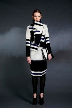 Yigal Azrouël Pre-Fall 2014 Collection Slideshow on Style.com