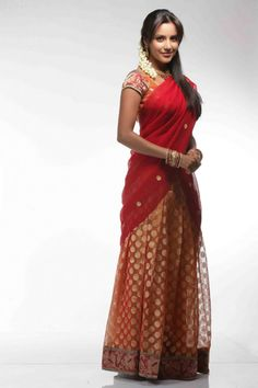 indian dresses- half saree