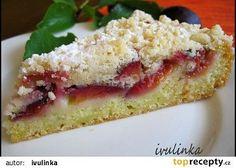 Cuketový koláč s ovocem recept - TopRecepty.cz