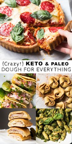Keto Dough (For Everything!)Crazy Keto Dough (For Everything! Ketogenic Recipes, Ketogenic Diet, Low Carb Recipes, Diet Recipes, Ketogenic Breakfast, Dukan Diet, Breakfast Menu, Cream Recipes, Desserts Keto