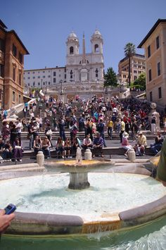 The Spanish Steps, Italy